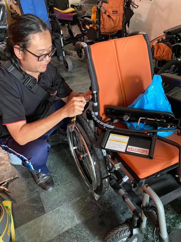 電動輪椅維修